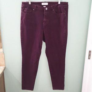 Lane Bryant Ultimate Stretch Super Skinny Jeans